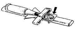 常三郎 裏刃研ぎ器(ノミ、かんな、押金の裏刃を研ぐ治具です)