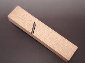 常三郎 キワ鉋(名門・青鋼)白樫(八寸台)左42mm