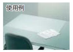 トラスコ 新JIS両面非転写デスクマット 1590×690mm 透明 DMJ-167