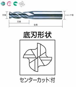 三菱マテリアル 4枚刃KHAスーパーエンドミル(M) S4MDD0550