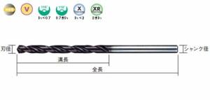 三菱マテリアル バイオレットストレートドリル VSDD0990