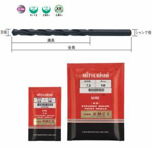 三菱マテリアル コバルトハイスステンレス用ストレートドリル 10.0mm(5本価格) KSDD1000