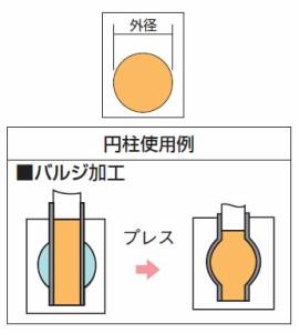 トラスコ ウレタンゴム(円柱) 外径40×長さ500mm OUE04000-05