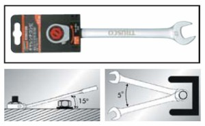 トラスコ ギヤレンチ コンビタイプ 24mm(1本価格) TGR-C24