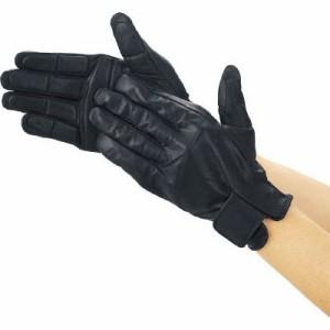トラスコ 防振・防滑手袋(フルフィンガー)L ブラック(1双価格)(TPG854-L)