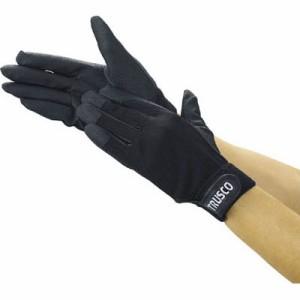 トラスコ PU厚手手袋(エンボス加工)LL ブラック(1双価格) TPUG-BLL