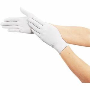 トラスコ 使い捨て極薄手袋(厚み0.01mm・粉付き)S ホワイト(1箱・100枚) DPM6981NS