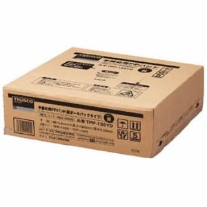 トラスコ 手締用PPバンド(段ボールパックタイプ)15.5mm×1000m 黄(1箱価格) TPP-155YD