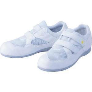 ミドリ安全 静電作業靴 エレパス(マジックタイプ)24.5cm PS15SW24.5