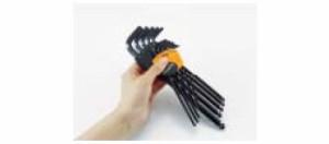 トラスコ ボールポイント六角棒レンチ(標準タイプ)対辺寸法4.5×首下寸法26mm TTBR-45