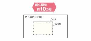 トラスコ ブル-シートα #2500 幅1.71×2.61m BSA251827