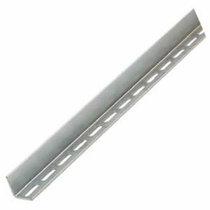 トラスコ 配管支持用片穴アングル 40型 スチール 長さ2400 5本組 TKL4-S240-U