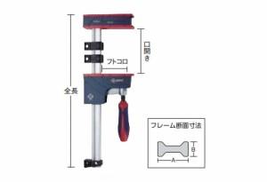 トラスコ 木工用クランプ PJH型 開き1000mm PJH-100
