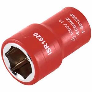 トラスコ 絶縁ソケット(6角)差込角9.5 対辺13mm ※取寄せ品 TZ3-13S