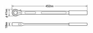 TOP 農機用爪交換レンチセット CKR-17×19S
