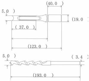 NH 小林式 角のみ (組) 5.0mm 標準