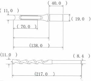 NH 小林式 角のみ (組) 11.0mm 標準