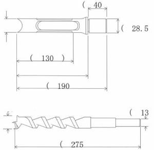 NH 小林式 角のみ (組) 27.0mm 標準