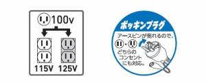 日動 強力昇圧トランス E付3KVA 100V 115.125V M-E30