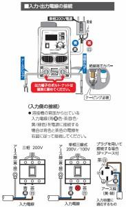 日動 インバーター直流溶接機 単相200V業務専用 BMウェルダー180 BM2-180DA