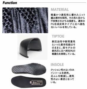 おたふく ジョーマーベリック ファインニット安全靴 ローカット 青 25.0cm ※取寄品 JW-452