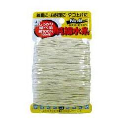 たくみ 純綿水糸(太さ: 約1.4mm) 100m×10巻 10