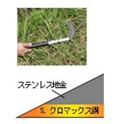 豊稔光山風刈(丸型)180mm(柄:330mm)(HTS-0010)