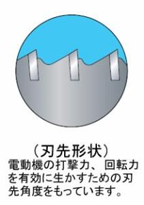 ミヤナガ 振動用コアドリル(Sコア)(ポリクリック)カッター 22mm PCSW22C