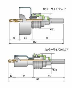 ミヤナガ ホールソー578(エスロック)カッター 24mm SL578024