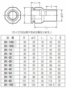 未来工業 2号コネクタ 適合管VE42 グレー 20個価格 2K-42