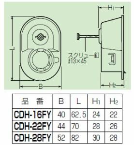 未来工業 F・ころブッシング(コンパクト・スクリュー釘付)CD単層波付管28用 100個価格 CDH-28FY