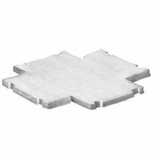 未来工業 埋込四角アウトレットボックス用 大形四角(浅型)(10mm厚)断熱シート 50枚価格 CDO-5A-P
