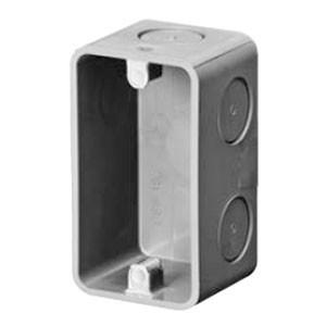 未来工業 埋込スイッチボックス 1個用 深さ53(50個価格) CSW-1SN
