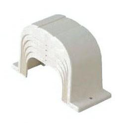 未来工業 エアコン配管材ダクトエンド(70型)ミルキーホワイト GKAE-70M 1個価格 GKAE-70M