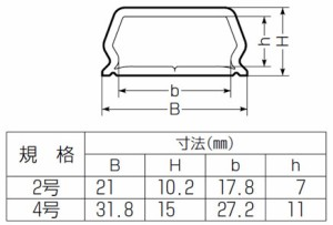 未来工業 光モール(パイプ型・光ファイバ用モール)4号 グレー 1本価格 HEML-P4G-2