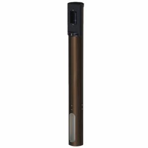 未来工業 給電ポール・丸(埋設タイプ)ショートタイプ シャインブロンズ(1個価格) MRPOS-1SB