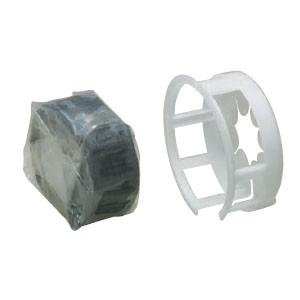 未来工業 耐火ブラック パテエース(空調キット)適合穴径120〜径135(1組価格) MTKB-AC125