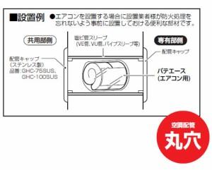 未来工業 タイカブラック パテエース(エアコン用)(1個価格) MTKB-AVU100