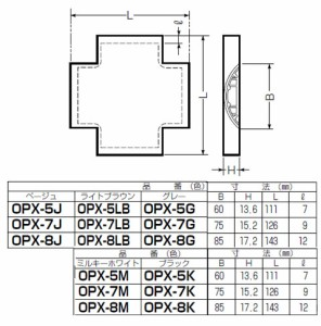 未来工業 ワゴンモール(ワイドタイプ)付属品クロス(OP7型)ブラック 1個価格 OPWX-7K