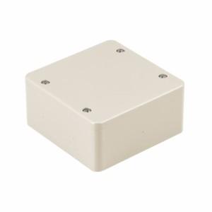 未来工業 PVKボックス(防水型・ノック無)中形四角浅型 ミルキーホワイト 20個価格 PVK-AOPM