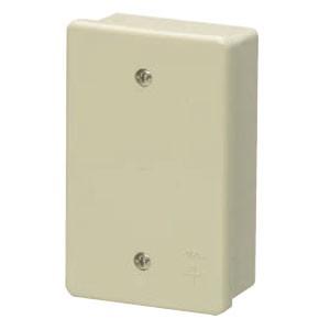 未来工業 露出スイッチボックス(カブセ蓋付き)ミルキーホワイト(20個価格) PVR16-1PM