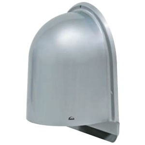 未来工業 パイプフード(鐘型) サイズ125 ミルキーホワイト(6個価格) PYK-S125HLM