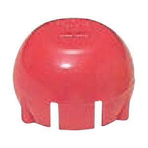 未来工業 安全キャップ 4分ボルト(W1/2)M12ボルト 赤(100個価格) SCAP-4R
