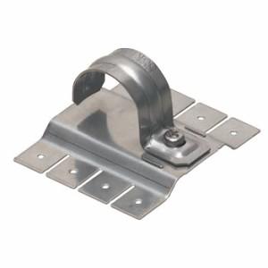 未来工業 PF管ステンレス片サドル(取付金具付)(10個価格) SSKT-DF22