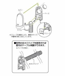 未来工業 引込みカバー(小型タイプ)ベージュ(1個価格) WKS-28J