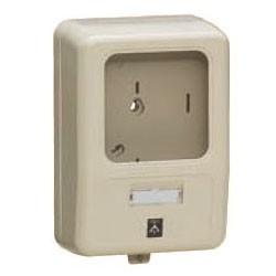 未来工業 電力量計ボックス(化粧ボックス)ライトブラウン WP-0LB-Z 1個価格 WP-0LB-Z