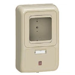 未来工業 電力量計ボックス(化粧ボックス)ライトブラウン WP-2LB-Z 5個価格 WP-2LB-Z