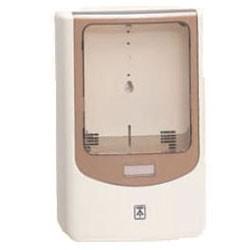 未来工業 電力量計ボックス(バイザー付)ミルキーホワイト WPN-2M 1個価格 WPN-2M