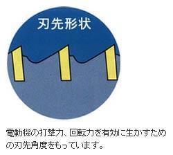 ミヤナガ 振動用コアドリル(ポリクリック)22mm ストレートシャンク