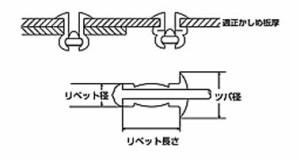 エビ APリベット エコボックス 3.2×13.3mm(300本入) AP45EB
